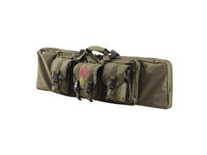 "HomCom 42"" Soft Single Rifle Case w/Pouches – Olive"
