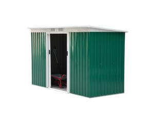 Outsunny 9 X 4 Outdoor Metal Garden Storage