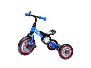 Aosom BMW MINI Foldable Toddler Tricycle with Push Handle - Blue