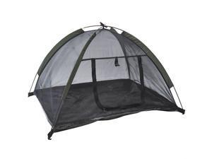 """Pawhut 35"""" x 28"""" Mesh Outdoor Camp Pop Up Pet / Dog Camping Tent"""
