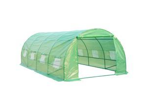 Outsunny 20'L x 10'W Dome Greenhouse