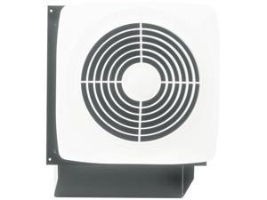 "Broan 508 10"" Through Wall Ventilation Fan White Square Plastic Grille 270 CFM"