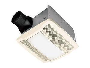 Nutone QTREN110FLT Bath Fan with Light 36W (2 x 18W) Light 110 CFM Title 24 Energy Star