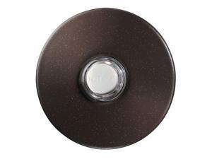 Nutone PB41LBR Door Chime Pushbutton oil-rubbed bronze stucco lighted