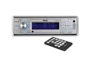 Pyle Plmr17bts Marine Single-din In-dash Mechless Receiver With Detachable Face & Bluetooth(r) (si