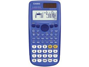CASIO FX-300ESPLUS-BLU Fraction & Scientific Calculator (Blue)