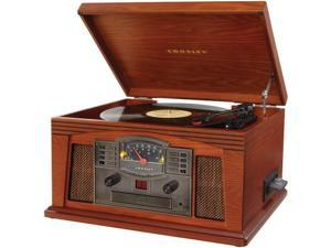 CROSLEY RADIO CR42C-PA Lancaster Musician Entertainment Center (Paprika)