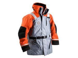 First Watch AC-1100 Flotation Coat - Orange/Grey - XX-Large