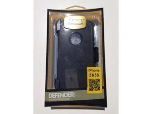 Otterbox Defender Belt Clip & Holster Series Black Case for iPhone 5/5S