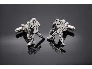 Constellation Aquarius Horoscope Sign Cufflinks
