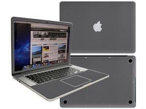 Decalrus  - Apple Macbook Pro 15 with RETINA display Full Body GREYTexture Carbon Fiber skin skins decal for case cover wrap CFCF15retinaGrey