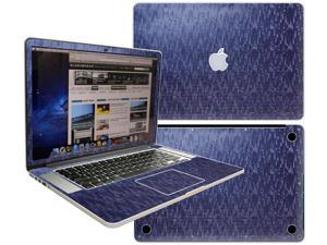 Decalrus  - Apple Macbook Pro 15 with RETINA display Full Body BLUE Chameleon Mosaic pattern Blue to Purple texture skin skins decal for case cover wrap MOSPro15RETBlue