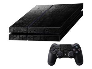 Decalrus  - Sony Playstation PS4 FULL BODY Crocodile skin pattern Texture skin skins decal for case cover wrap CROps4Black