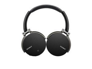 Refurbished: Sony MDR-XB950BT/B Full Size Extra Bass Bluetooth Headset - Omni Directional - Black