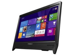 "Lenovo C260 (57327041) 19.5"" All-in-One Touchscreen Desktop, Intel Quad-Core Pentium J2900 2.1Ghz, 4GB DDR3 500GB HDD, Windows 8 64Bit - Black"