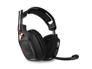 ASTRO A50 Wireless Gaming Headset w/ Dolby Digital 7.1 MixAmp & Stand - Black