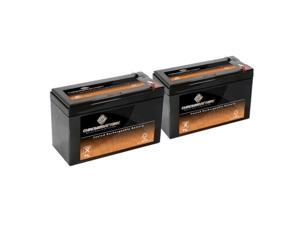12V 8.5AH SLA Battery replaces ep1234w - 2PK