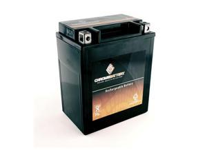 YB14L-A2 High Performance - Maintenance Free - Sealed AGM Motorcycle Battery