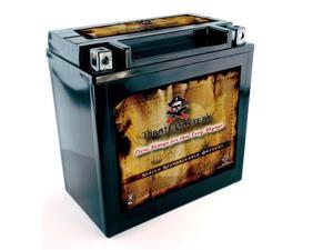 YB16CL-B  High Performance - Maintenance Free - Sealed AGM Motorcycle Battery