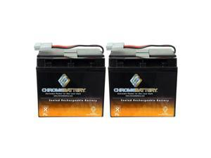 RBC11 RBC55 UPS Complete Replacement Battery Kit for APC SUA3000