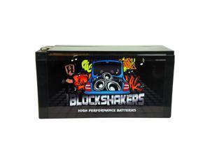 Black 16V 30AH (2000 Watts) High Performance Car Audio Battery