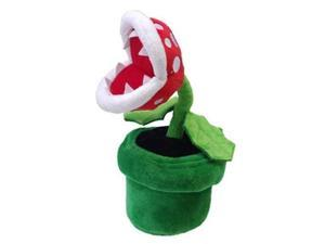 "San-ei Mario Plush Series Stuffed Toy - 9"" Piranha Plant (Japanese Import)"