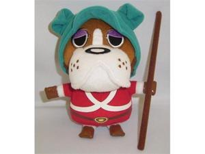"Official Nintendo Animal Crossing Plush Toy - 7"" Bulldog / Officer B (Japanese Import)"
