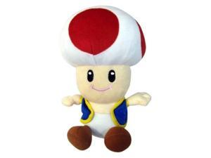 "Official Nintendo Mario Party Plush Toy - 6"" Toad (Japanese Import)"