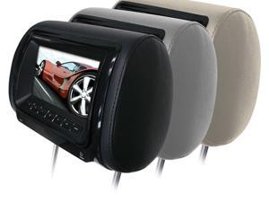 "NEW BOSS HIR9BGTM 9"" WIDESCREEN MONITOR UNIVERSAL HEADREST WITH REMOTE"