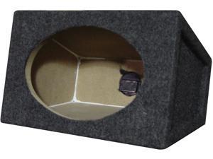 "New Pair Q-Power Qat6x9 6X9"" Wedge Style Speaker Enclosures"