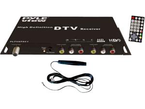 Pyle - ATSC Digital Car HDTV Tuner/Receiver