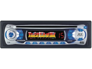 Pyramid CDR33D AM/FM Receiver and Auto-Loading CD Player with Analog CFD Point Display