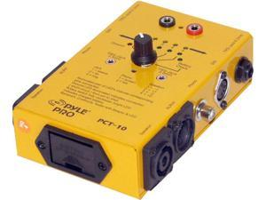 NEW PYLE PCT10 8 PLUG PROFESSIONAL AUDIO CABLE TESTER