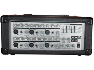 Pyle PMX601 6-Channel Powered PA Mixer/Amplifier