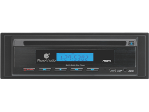 Planet Audio P450 Mobile DVD Player with USB Port and Front AUX Input