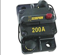 NEW XSCORPION CB200A 200 AMP MANUAL RESET CIRUIT BREAKER