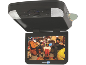 Movies 2 Go AVXMTG10U 10 LED Overhead Monitor w Built-In DVD Player