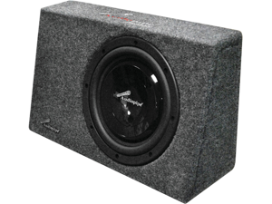 "Audiopipe Apsb10slm 10"" 400W Shallow Mount Enclosure 400 Watt Max"