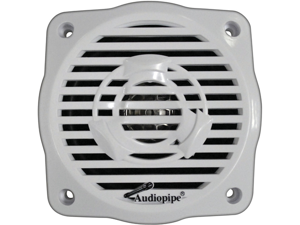 "Audiopipe Apsw2504js 1 Pair Of 4"" Coxial 2 Way Marine Speakers And Amplifier"