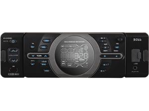 BOSS AUDIO In-Dash Single-DIN MP3 Digital Media Player AM/FM Receiver Model 810DBI