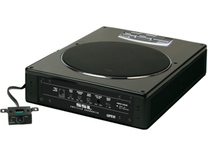 """SOUNDSTORM LoPro8 Low-Profile Amplified Subwoofer (8""""&#59; 600W)"""