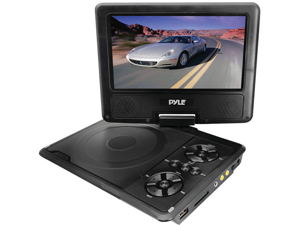 """NEW PYLE PDH9 PORTABLE 9"""" TFT LCD DVD PLAYER WITH REMOTE"""