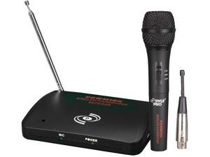 PYLE-PRO PDWM100 - Dual Function Wireless/Wired Microphone System