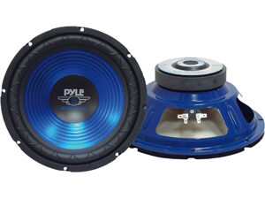 PYLE CAR AUDIO PLW12BL NEW 12 INCHES MOBILE CAR AUDIO SUBWOOFERS 800 WATTS 4 OHM