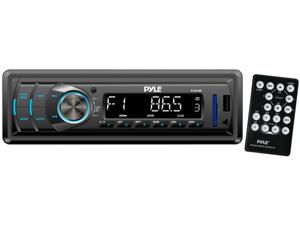 New Pyle Plr34m In Dash Mp3 Usb Sd Aux Am Fm Car Receiver Stereo Remote Plr24mpf