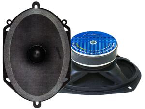 New Pair Audiopipe 6X8 Apmb-6800 Low Mid Loud Speaker