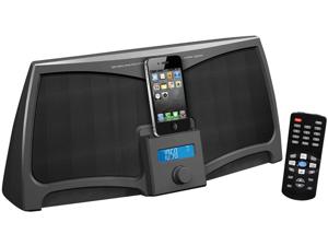 Pyle Pip711 300W Ipod/Iphone/Ipad Stereo With Fm Radio Alarm Clock & Remote