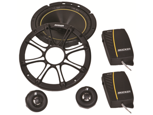 """NEW PAIR 2011 KICKER DS68.2 6x8"""" 180W COMPONENT CAR SPEAKERS 11DS682"""