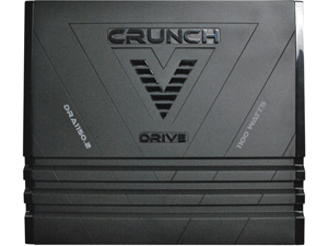 New Crunch Dra11502 2 Ch 1100W Car Audio Amplifier Amp 2 Channel 1100 Watt