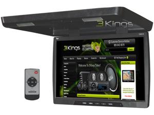 """New Tview T206ir Black 20"""" Thin Flip Down Tft Car/Truck Video Monitor/ Ir Remote"""